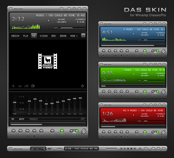 Top 20 most downloaded cPro skins - Winamp & Shoutcast Forums