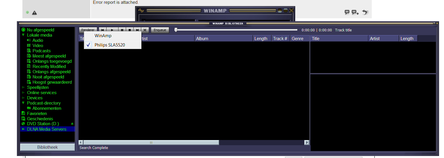 UPNP Media Server Bbrowser - Winamp & Shoutcast Forums